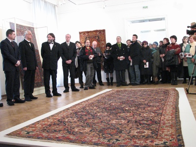 Muzeul National Brukenthal -190 de ani de la inaugurarea sa ca institutie publica: expozitia Vechi covoare turcesti in colectii transilvanene