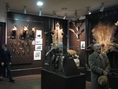 """Muzeul National Brukenthal -190 de ani de la inaugurarea sa ca institutie publica: expozitia Muzeului de Vanatoare """"August von Spiess"""""""
