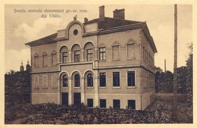 Scoala civila de fete cu internat a Asociatiunii din Sibiu