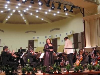 Concert tradiţional de Anul Nou cu participarea sopranei Katarina Jovanovic - Serbia