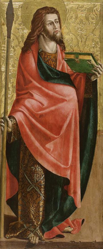 Hl. Thomas (Innenseite) und hl. Silvester (Außenseite)