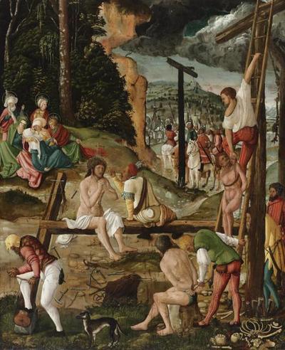 Vor der Kreuzigung Christi (Christus im Elend)