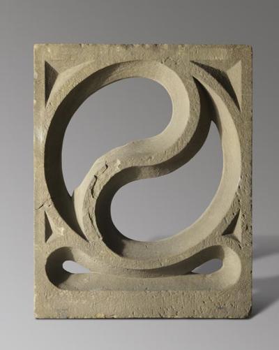Fragment mit Maßwerkdekor