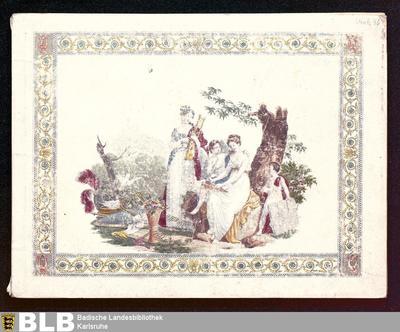 Album lyrique ou recueil de romances