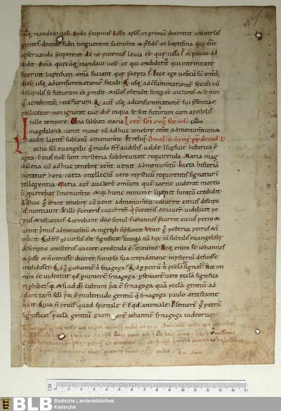 Homiliarius, Fragment - Aug. Fr. 84