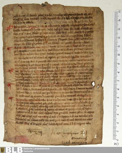 Lectionarius, Fragment - Aug. Fr. 86