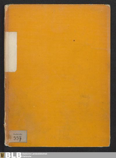 Fragmentum annalium ordinis S. Francisci - Karlsruhe 357