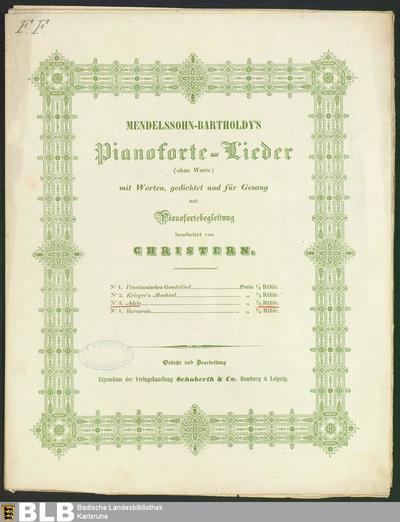 Adele (Mendelssohn-Bartholdy's Pianoforte-Lieder (ohne Worte), 3)