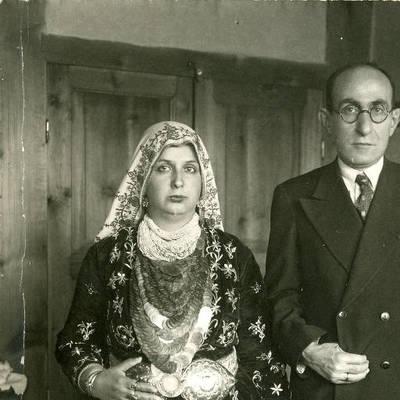 Beypazarı Mal Müdürü ve Eşi