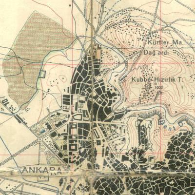 Ankara Merkez İdari Haritası