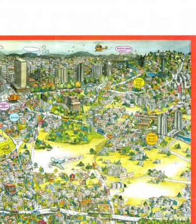 Ankara'nın 21.yy projelerinin anlatıldığı çizim