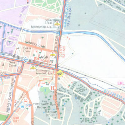 Ankara toplu taşım haritası