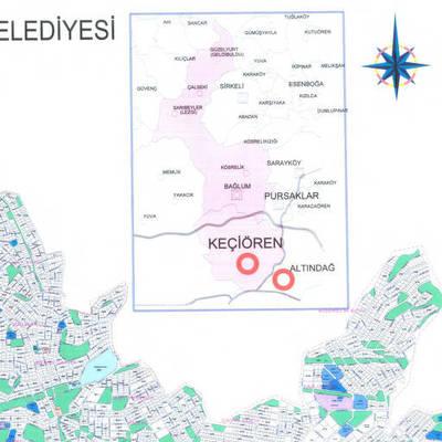 Keçiören haritası