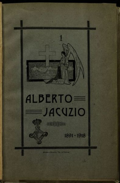 Alberto Jacuzio  : 1891-1918 /