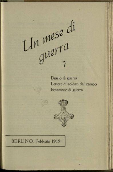 Febbraio 1915