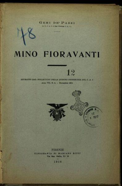 Mino Fioravanti  / Geri De'Pazzi