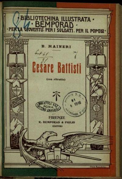 Cesare Battisti  / B. Maineri