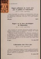 Directives pour les enquetes sur la nutrition de populations / par E. J. Bigwood