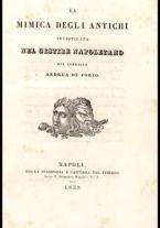 La mimica degli antichi investigata nel gestire napoletano / del canonico Andrea De Jorio