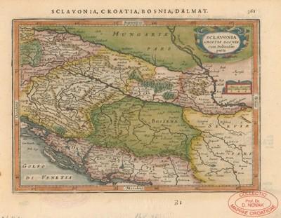 Sclavonia, Croatia, Bosnia cum Dalmatiae parte / per Gerardum Mercatorem.