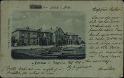 Hrvatski dom ''Sokol'' i ''Kolo'' : Pozdrav iz Zagreba.