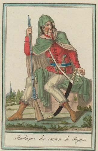 Morlaque de canton de Segna / Labrousse scul. ; J. Grasset St. Sauveur inc.