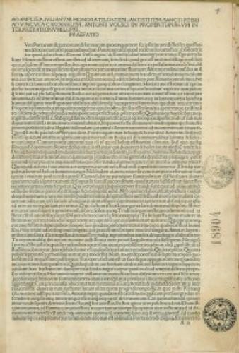 Elegiae. Ed. Antonius Volscus.