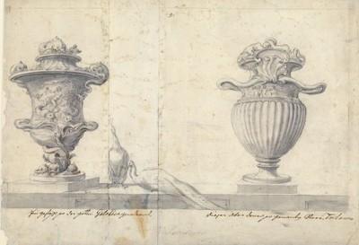 [Galathea- und Tritonen-Vase] / [Johann Bernhard Fischer von Erlach].