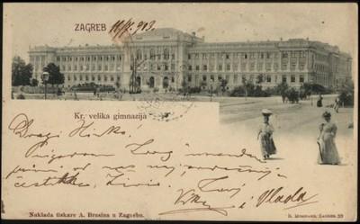 Zagreb : Kr. velika gimnazija.