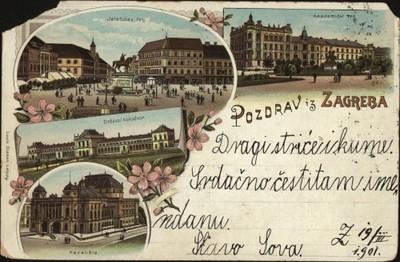 Pozdrav iz Zagreba.