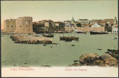 Luka Dubrovačka = Hafen von Ragusa.
