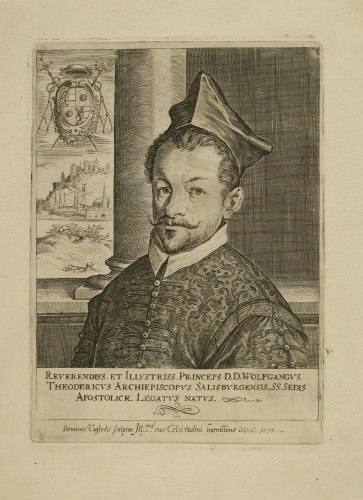 Princeps Wolfgangus Theodericus / [gravirao] Dominic.[us] Custodis.