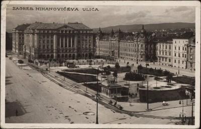 Zagreb : Mihanovićeva ulica.