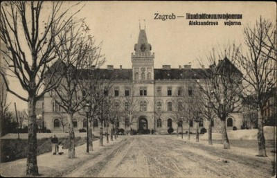 Zagreb : Aleksandrova vojarna.