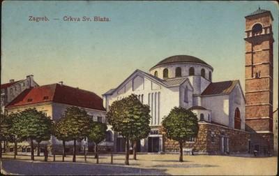Zagreb : Crkva Sv. Blaža.