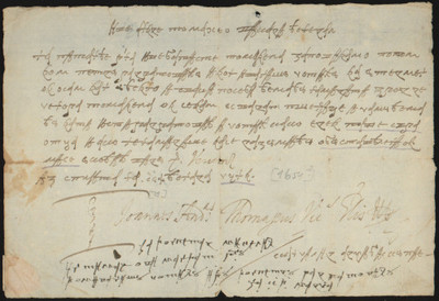 Pet isprava pisanih bosančicom i glagoljicom. Deset glagoljicom i bosančicom pisanih listina.