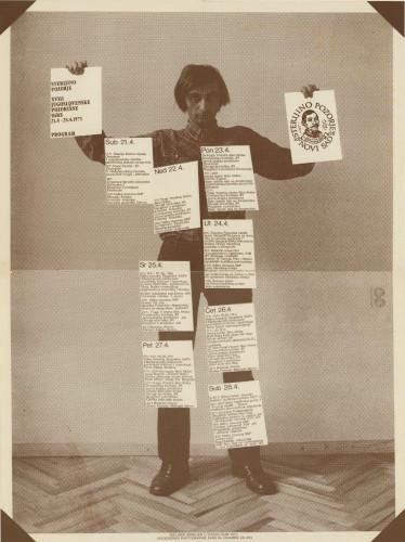 Sterijino pozorje : XVIII. jugoslovenske pozorišne igre, Novi Sad, 21.4.-28.4.1973. / [dizajn Boris Bućan].
