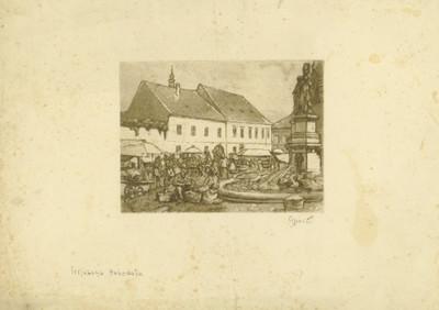 [Zagreb - Kaptol] / [Milenko] Gjurić.
