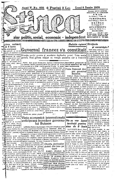 Știrea, Anul V, Nr. 935