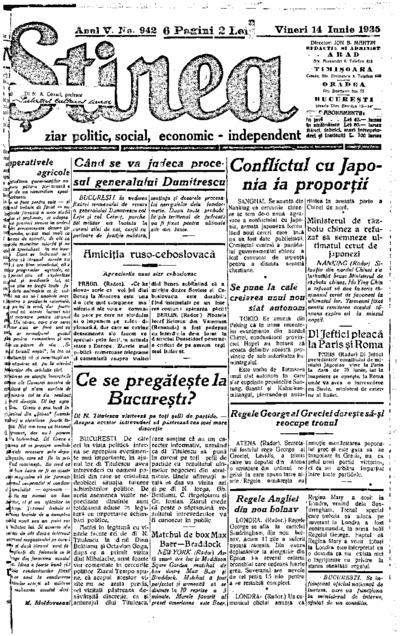 Știrea, Anul V, Nr. 942