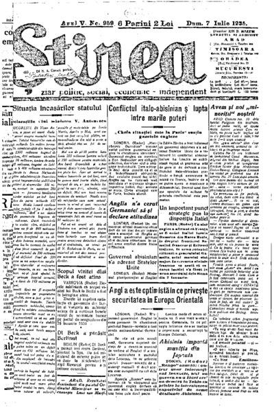 Știrea, Anul V, Nr. 959