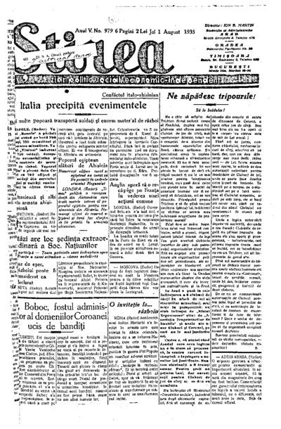 Știrea, Anul V, Nr. 979