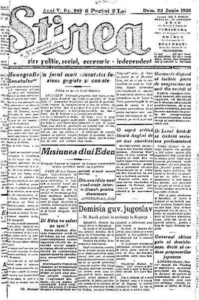 Știrea, Anul V, Nr. 949