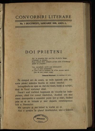 Convorbiri literare. 1916, An 50, nr. 1- 6, 7-8