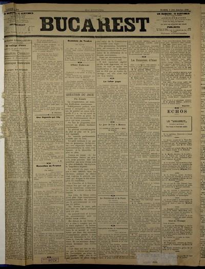 Bucarest. 1891, An 2, nr. 284, 285, 287, 288, 290 - 356, 358 - 424