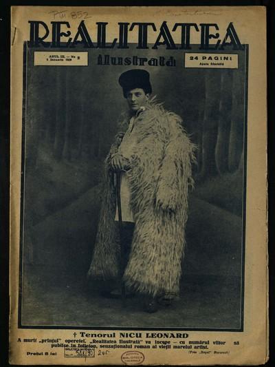 Realitatea ilustrată. 1929, Anul 3, nr. 2, 3, 9-20, 23-52, 152