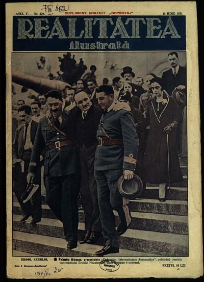 Realitatea ilustrată. 1931, Anul 5, nr.229, 231, 236, 238, 239, 246