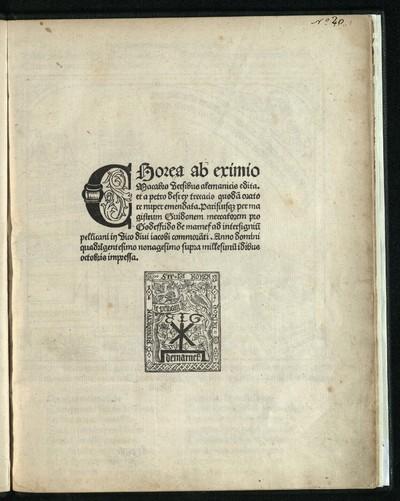 Chorea ab eximio Macabro versibus alemanicis edita