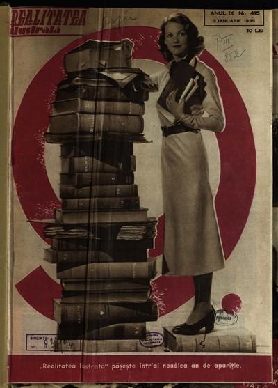 Realitatea ilustrată. 1935, Anul 9, nr. 415-466
