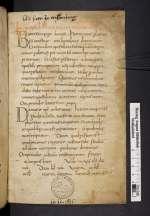 Liber pontificalis. [Cod. Guelf. 10. 11 Aug. 4°]